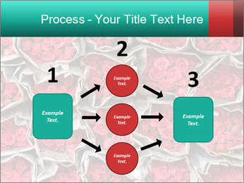Red roses PowerPoint Template - Slide 92