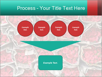 Red roses PowerPoint Template - Slide 93