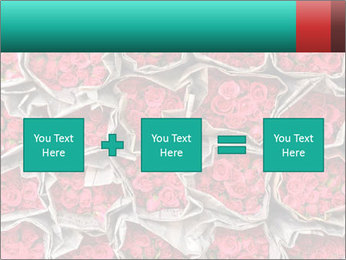 Red roses PowerPoint Template - Slide 95