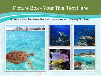 Green sea PowerPoint Templates - Slide 19