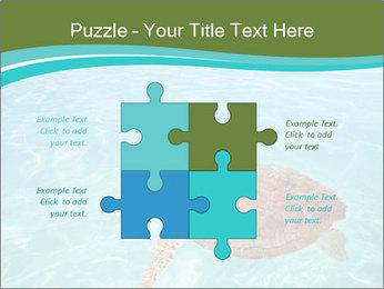 Green sea PowerPoint Templates - Slide 43