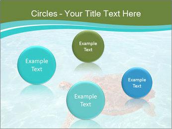 Green sea PowerPoint Templates - Slide 77