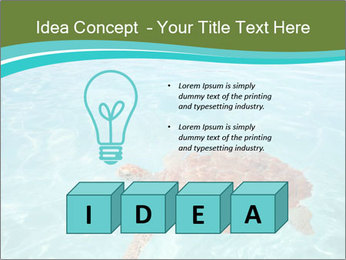 Green sea PowerPoint Templates - Slide 80
