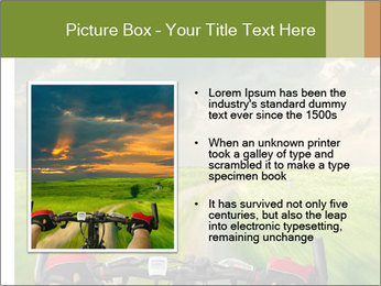 Bicycle riding PowerPoint Template - Slide 13