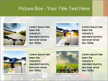 Bicycle riding PowerPoint Template - Slide 14