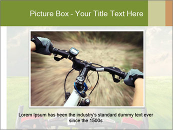 Bicycle riding PowerPoint Template - Slide 15