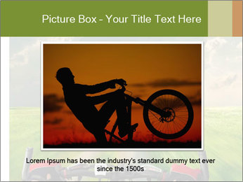 Bicycle riding PowerPoint Template - Slide 16