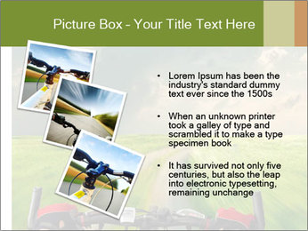 Bicycle riding PowerPoint Template - Slide 17