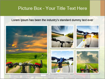 Bicycle riding PowerPoint Template - Slide 19