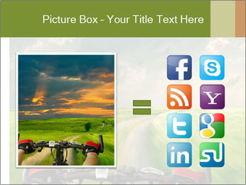 Bicycle riding PowerPoint Template - Slide 21
