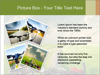 Bicycle riding PowerPoint Template - Slide 23