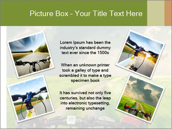 Bicycle riding PowerPoint Template - Slide 24