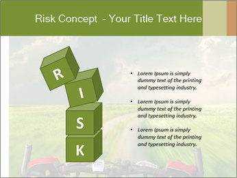 Bicycle riding PowerPoint Template - Slide 81