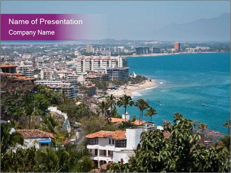 Vallarta city PowerPoint Template