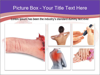 Human finger PowerPoint Template - Slide 19