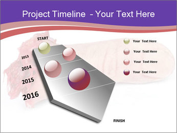 Human finger PowerPoint Template - Slide 26