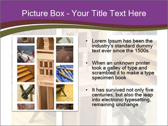Carpentry collage PowerPoint Templates - Slide 13