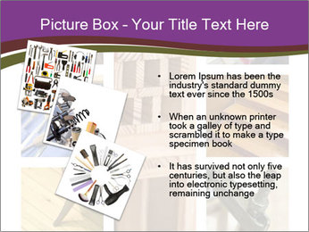 Carpentry collage PowerPoint Templates - Slide 17