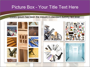 Carpentry collage PowerPoint Templates - Slide 19