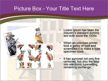 Carpentry collage PowerPoint Templates - Slide 20