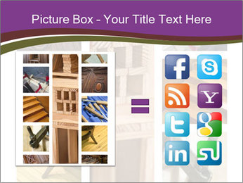 Carpentry collage PowerPoint Templates - Slide 21