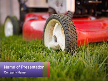 The Grass PowerPoint Template - Slide 1