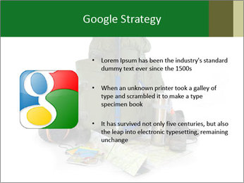 Tourist equipment PowerPoint Template - Slide 10