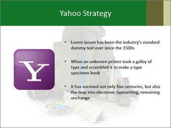 Tourist equipment PowerPoint Template - Slide 11