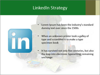 Tourist equipment PowerPoint Template - Slide 12