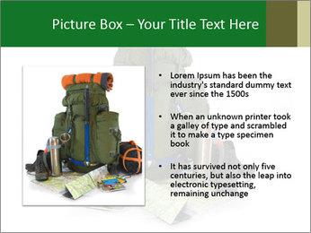 Tourist equipment PowerPoint Template - Slide 13