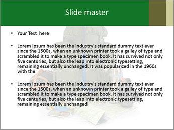 Tourist equipment PowerPoint Template - Slide 2