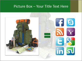 Tourist equipment PowerPoint Template - Slide 21
