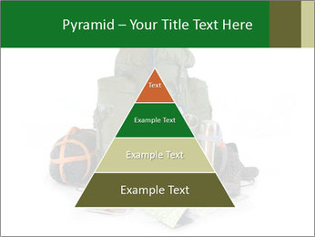 Tourist equipment PowerPoint Template - Slide 30
