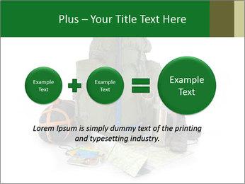 Tourist equipment PowerPoint Template - Slide 75