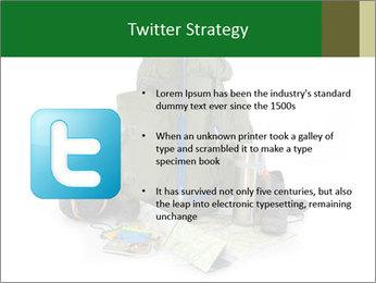 Tourist equipment PowerPoint Template - Slide 9