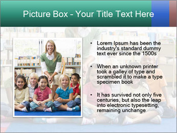 Portrait with teacher PowerPoint Template - Slide 13