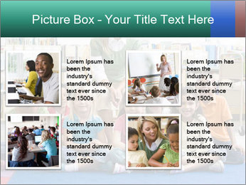 Portrait with teacher PowerPoint Template - Slide 14
