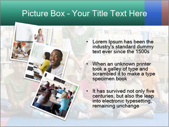 Portrait with teacher PowerPoint Templates - Slide 17
