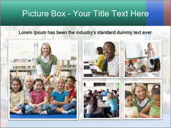 Portrait with teacher PowerPoint Templates - Slide 19
