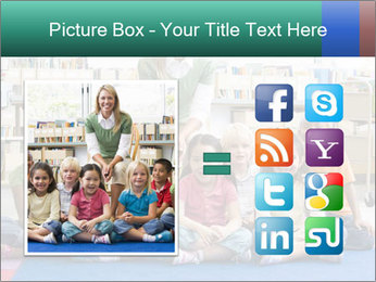 Portrait with teacher PowerPoint Templates - Slide 21