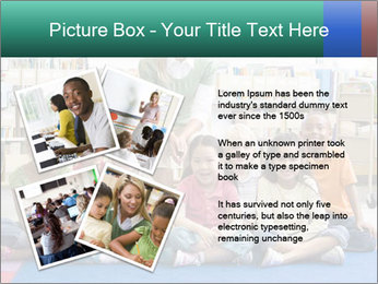 Portrait with teacher PowerPoint Template - Slide 23