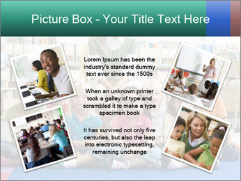 Portrait with teacher PowerPoint Template - Slide 24