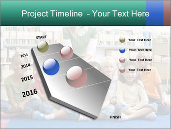 Portrait with teacher PowerPoint Template - Slide 26