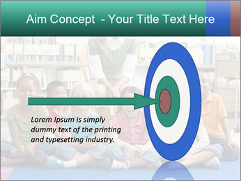 Portrait with teacher PowerPoint Template - Slide 83