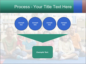 Portrait with teacher PowerPoint Template - Slide 93