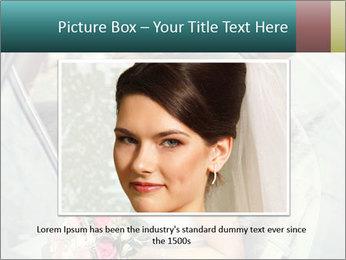 Pretty bride PowerPoint Templates - Slide 15
