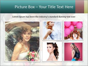 Pretty bride PowerPoint Template - Slide 19