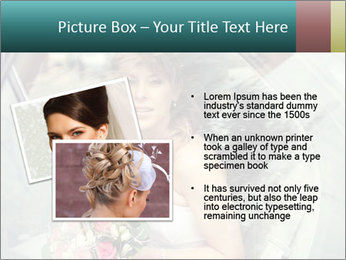 Pretty bride PowerPoint Template - Slide 20