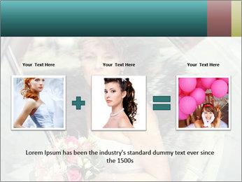 Pretty bride PowerPoint Template - Slide 22
