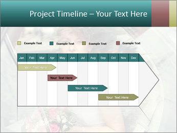 Pretty bride PowerPoint Templates - Slide 25